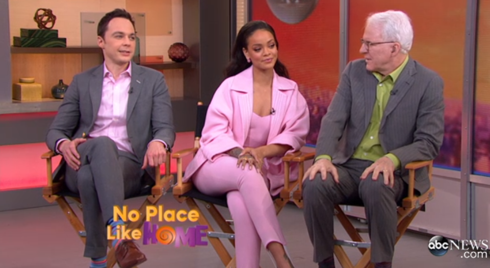 Jim Parsons and Steve Martin Discuss Their Roles in Home Video ABC News
