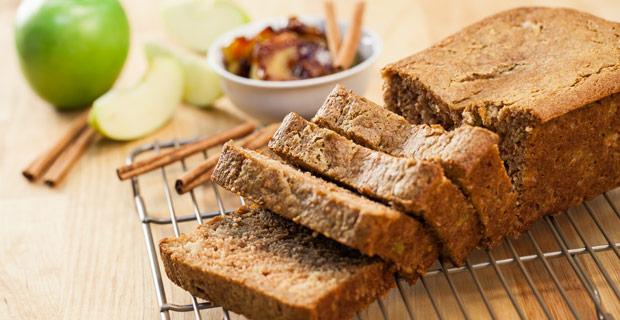Apple cinnamon sweet bread main